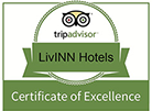 LivINN Hotels Certificate of Excellence