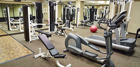 Fitness Center of LivINN Hotels, Minneapolis