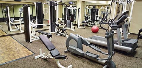 Fitness Center of LivINN Hotels, Minneapolis