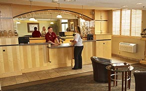 24 Hour Front Desks in LivINN Hotels Minneapolis, Minnesota
